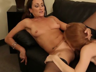 Michelle Lay and the redhead