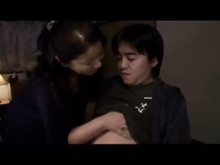 Busty Japanese mother Id like to fuck gets her unshaved poontang bonked