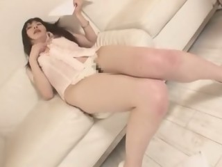 Horny Japanese model Mimi Asuka in Hottest Masturbation, Panties JAV movie