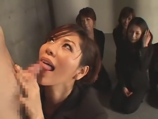 Horny Japanese slut Yumi Kazama, Chisato Shouda, Maki Tomada in Amazing Group Sex JAV video