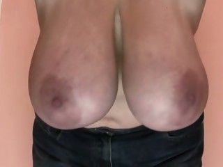 Horny amateur Big Tits, Big Natural Tits sex video