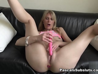 Jentina Small in flappy wet cunt - PascalsSubSluts