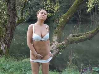 Exotic amateur Big Natural Tits, Softcore sex video