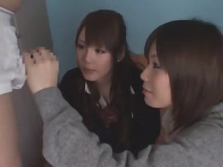 Exotic Japanese whore Rui Yazawa, Ruka Namiki, Anju Himeno in Fabulous Cumshots, Threesomes JAV movie