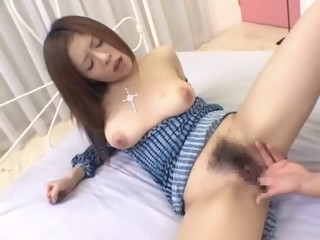Amazing Japanese chick in Exotic Small Tits, Hairy JAV video