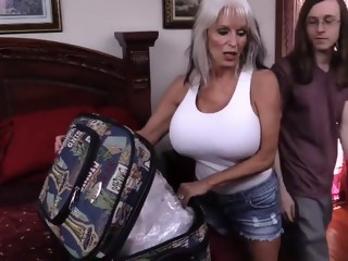 Fucking the big titted granny