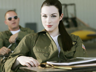 Stoya & Mick Blue  in Top Guns, Scene 2