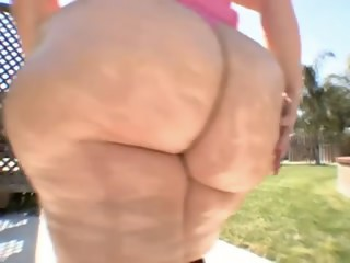 A-Hole-Wazoo-Blonde large delightful woman-Granny takes BBC
