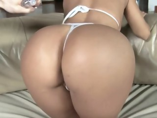 Curvy Latina gets screwed hard in POV porn video