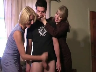 Punished by gf mother