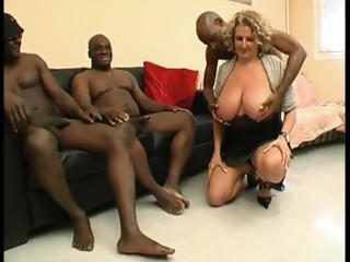 Horny Big Natural Tits scene with Gangbang,Big Tits scenes