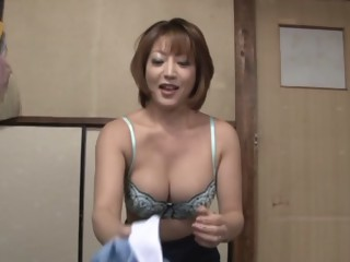 Reiko Kagami hot mature Asian babe in sexy costume